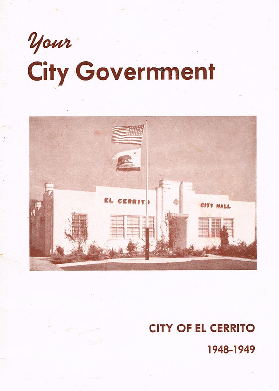 your city government el cerrito 1948-49