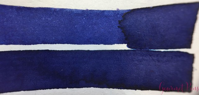 Ink Shot Review Diamine Anniversary Tudor Blue @AppelboomLaren 5