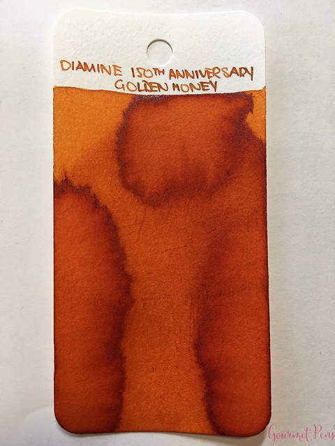 Ink Shot Review Diamine Anniversary Golden Honey @AppelboomLaren 11