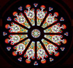 Cathedral Basilica of St. Francis of Assissi Rose Window SG