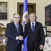 Secretary General Meets with outgoing Permanent Observer of Spain to the OAS