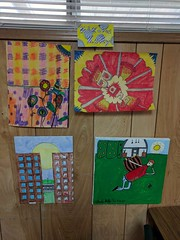 Nik- 5th grade Art Show