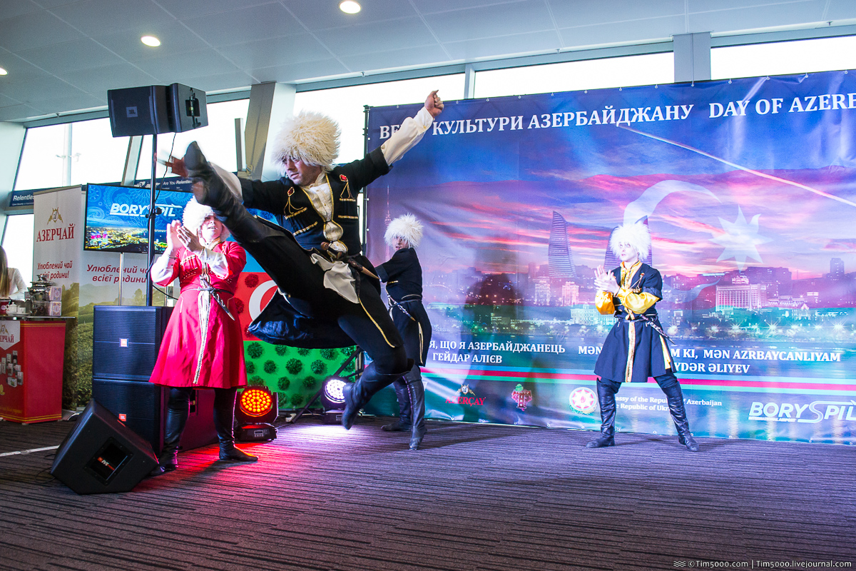 Народный ансамбль Азербайджан