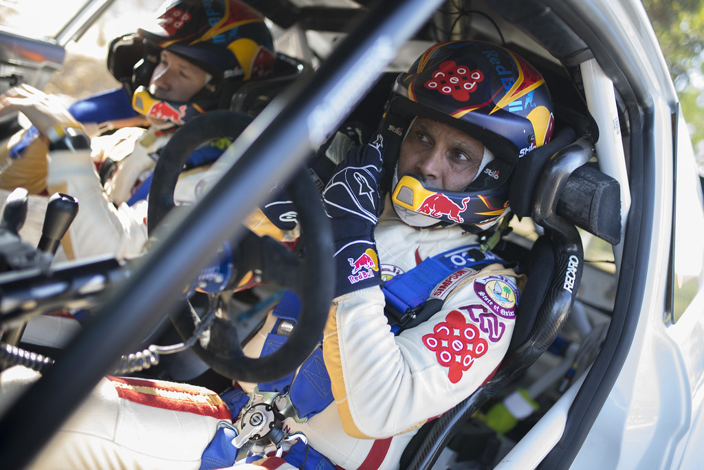 AL ATTIYAH Nasser (qat) and BAUMEL Matthieu (fra) NASSER AL-ATTIYAH FORD FIESTA R5 ambiance portrait during the 2017 European Rally Championship ERC Cyprus Rally,  from june 16 to 18  at Nicosie, Cyprus - Photo Gregory Lenormand / DPPI