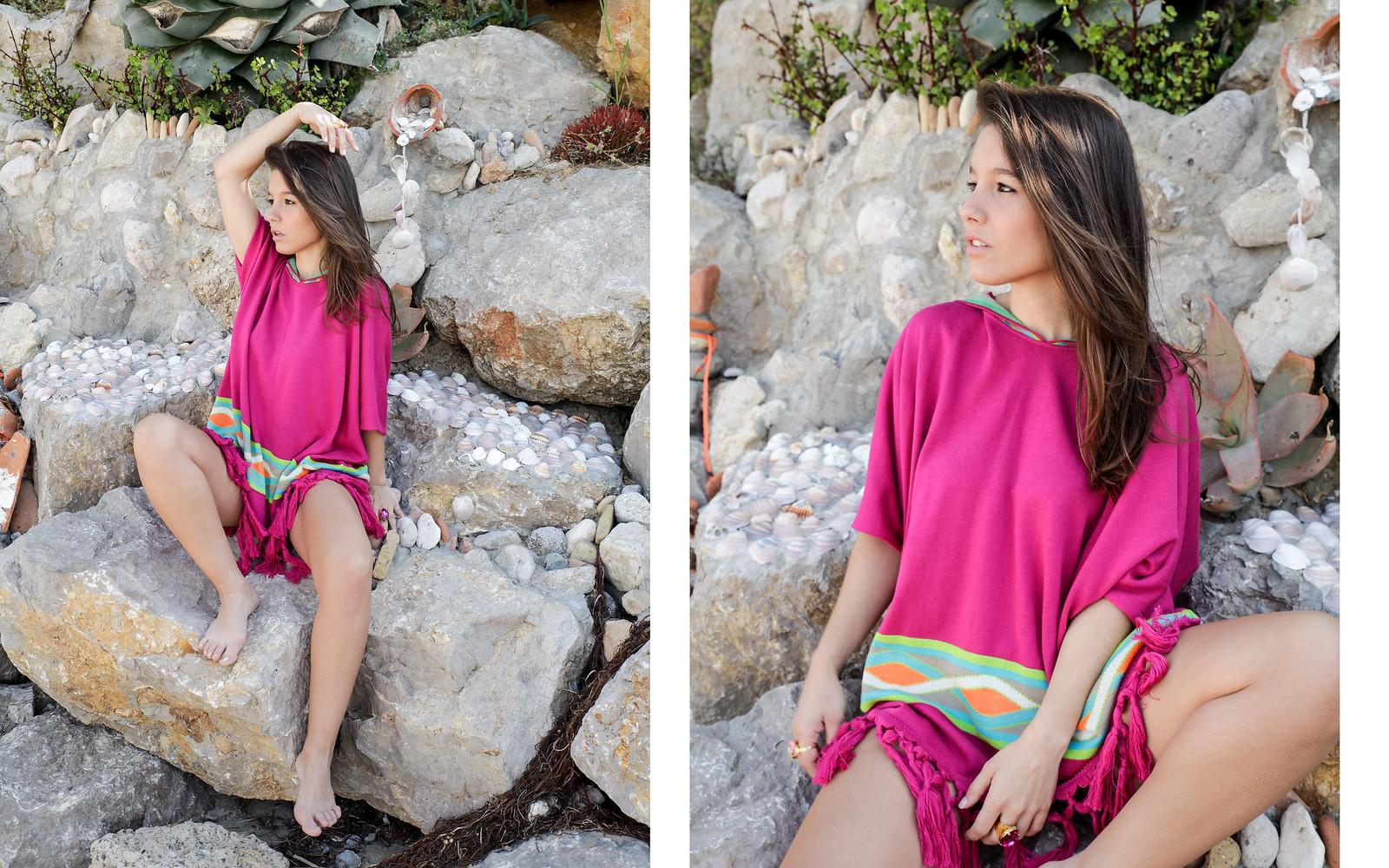 02_Poncho_rosa_RÜGA_Laura_Santolaria_Theguestgirl_Ambassador_influencer_barcelona