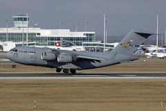 04-4132 US Air Force C-17A. Munich 19/02/2017
