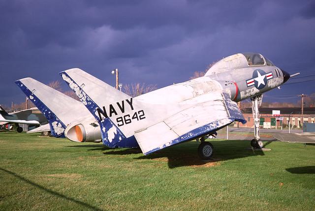 F7U-3 Cutlass 129642 ex-VA-12 11