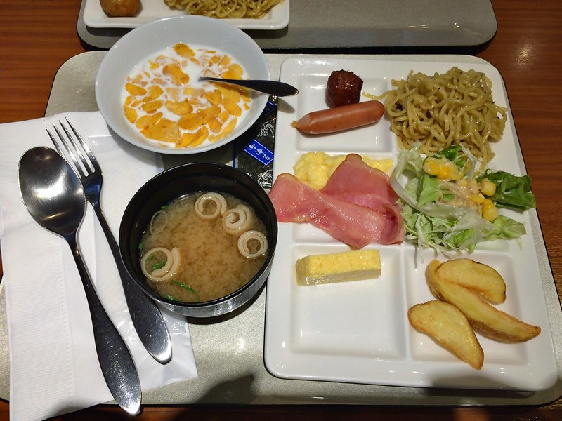 Shin-Osaka Esaka Tokyu REI hotels-早餐