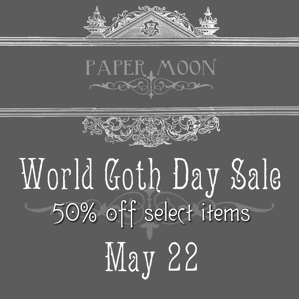 *pm* World Goth Day Sale - SecondLifeHub.com