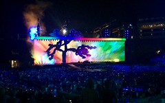 U2 The Joshua Tree Tour 2017 Rose Bowl Pasadena, CA.
