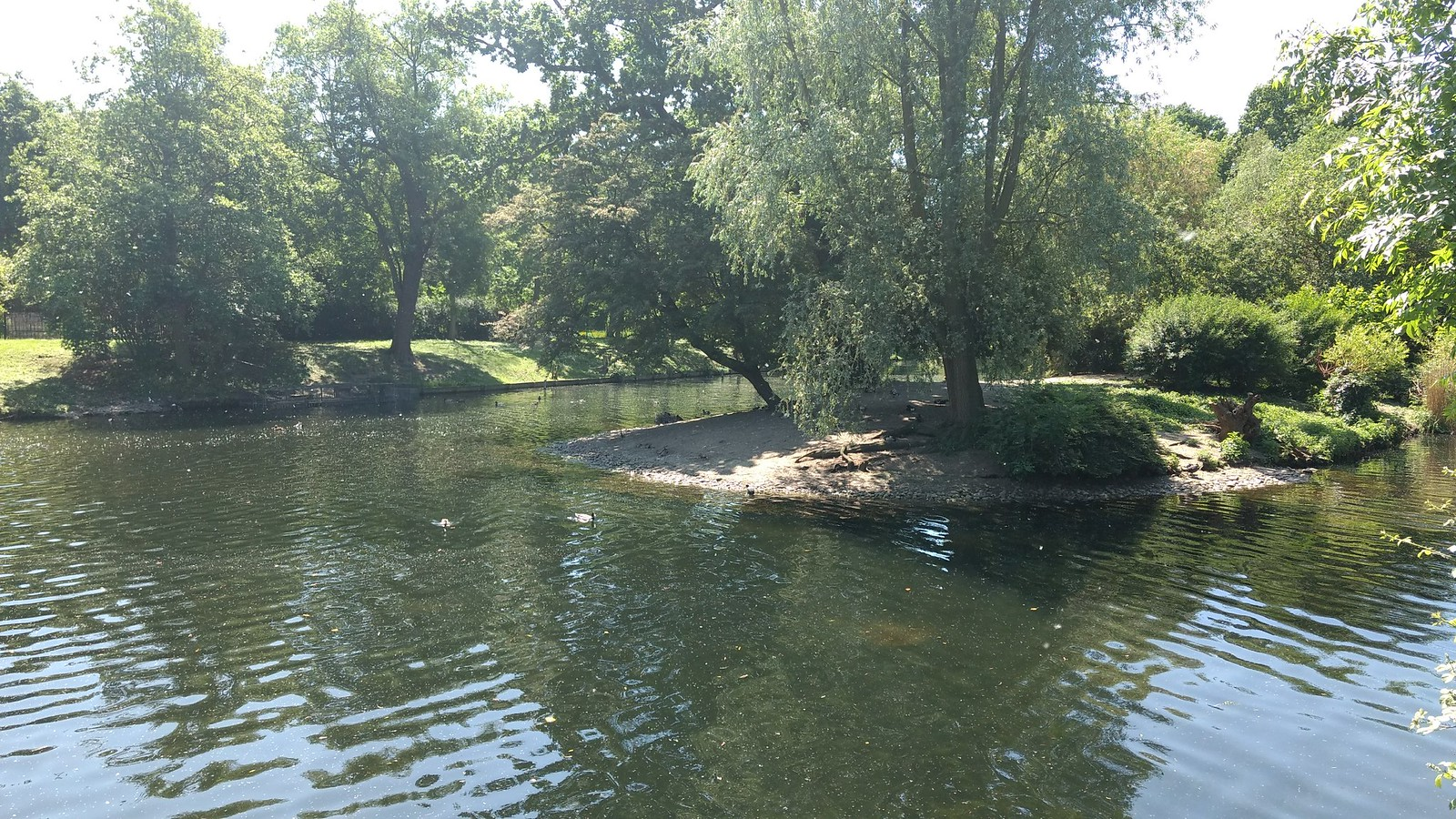 Regents Park Lake