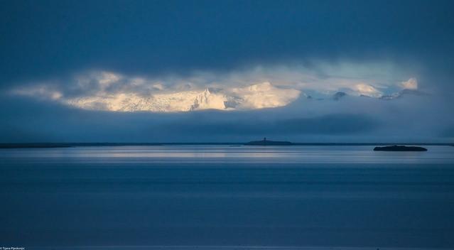 Blue mist, Iceland
