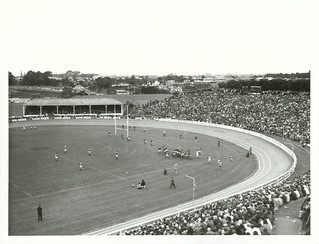 1977 Lions versus Taranaki rugby match at Westown Park, New Plymouth