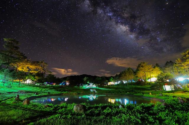 Milky way,Fushoushan Farm 福壽山銀河
