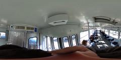 Riga tram Tatra T3 51503 interior