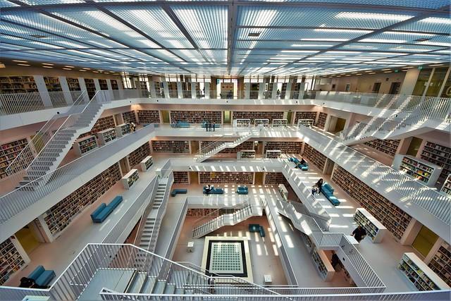Stuttgart Library (Stadtbibliothek ) - GERMANY