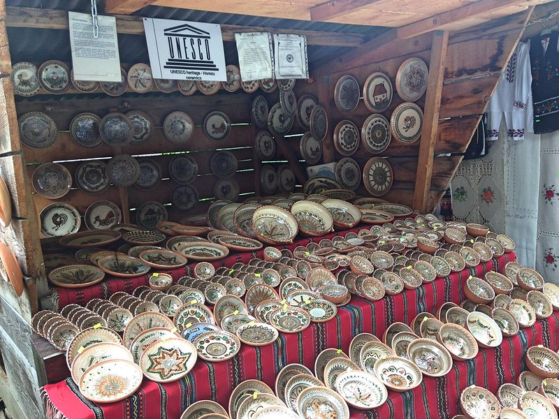 Romanian ceramics Bran