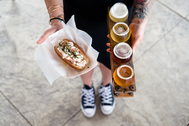 Allagash + lobster rolls = summer