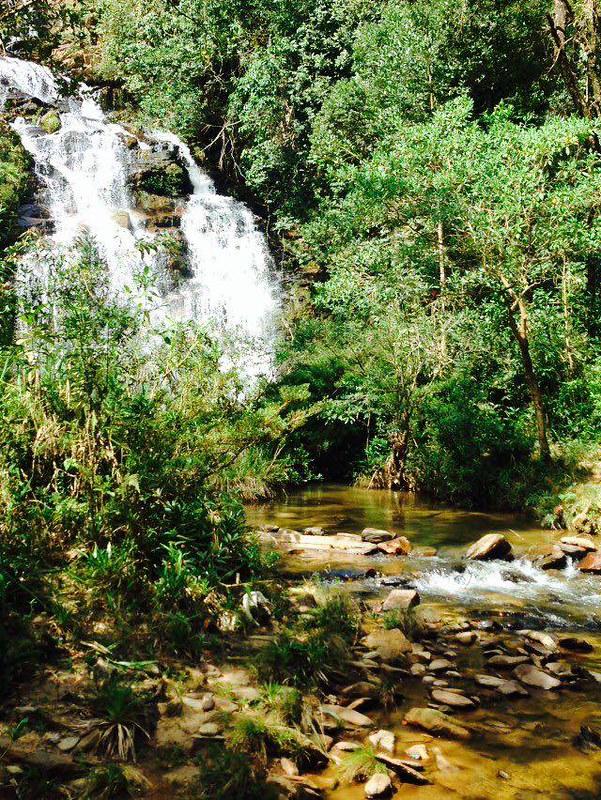 Cachoeira do Indio, Cristal e Viana