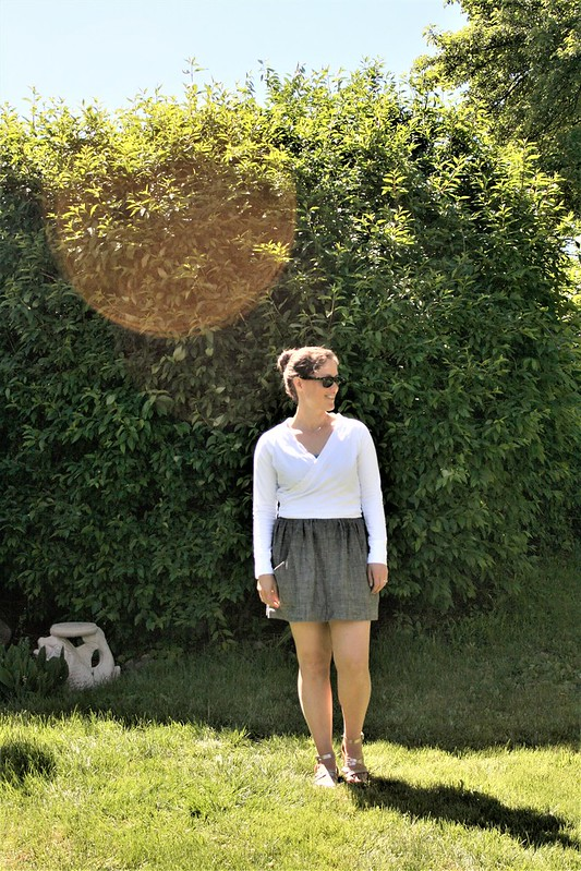 Cropped Coppelia Cardi for Summer