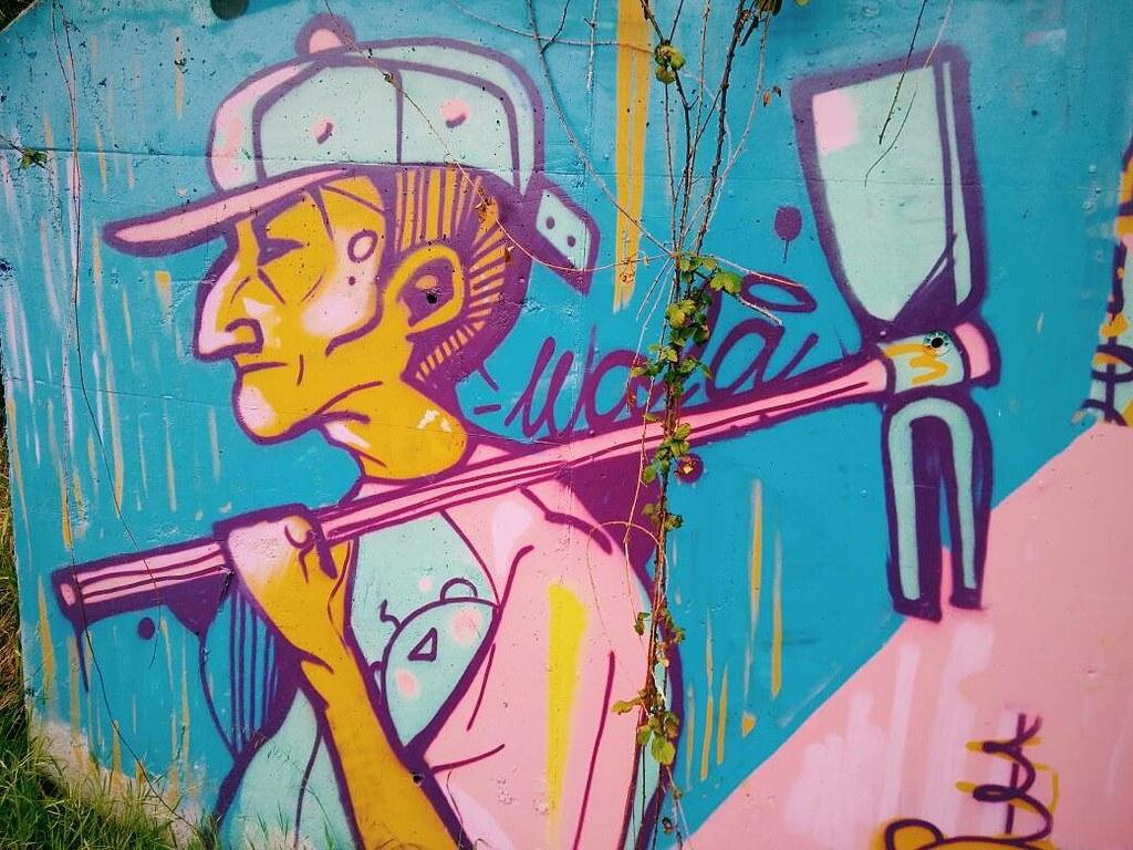Arte urbano. #graffiti #urbanart #coruña #phonephoto #cityphotography #vsco #cityart #rinconesdeacoruña #igerscoruña