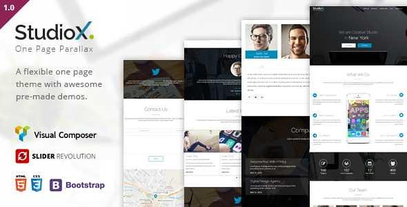 StudioX WordPress Theme free download