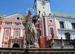 Broumov, Benedictine Monastery and the Church of St. Vojtech