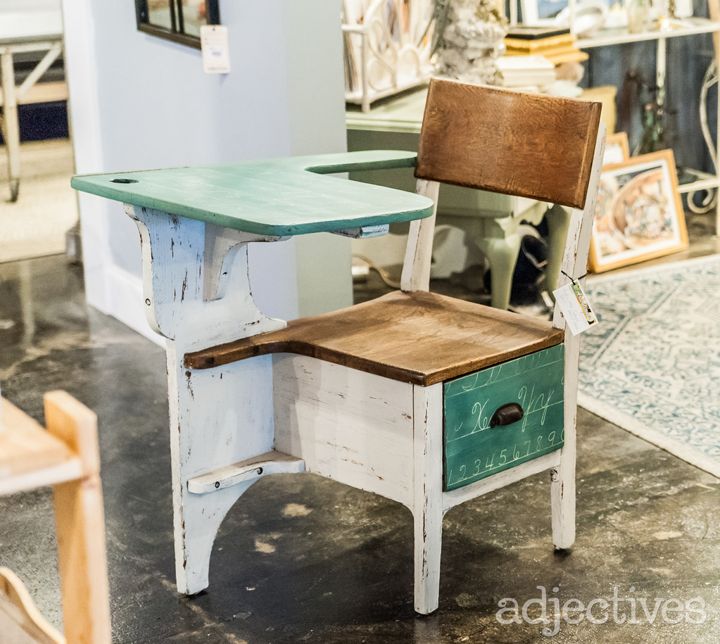 Vintage school desk in Altamonte by Artsytiques