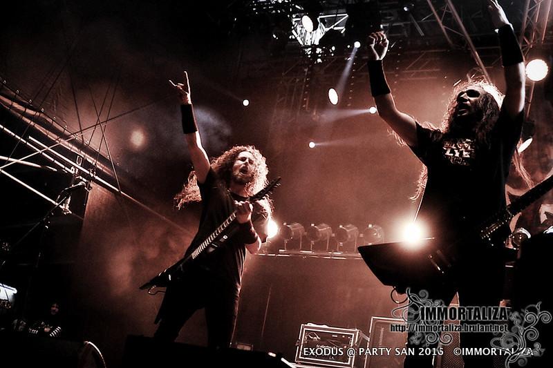EXODUS @ PARTY SAN OPEN AIR 2016 Metal Open Air Schlotheim - Germany 35103040456_0343854125_c