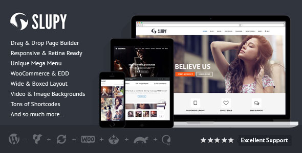 Slupy v1.1.7 - Responsive Multi-Purpose WordPress Theme
