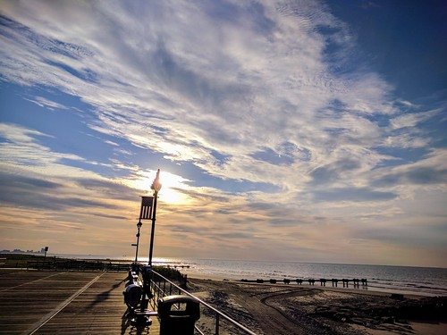 oceancity nj beach sky sea water morningsky scenics landscape