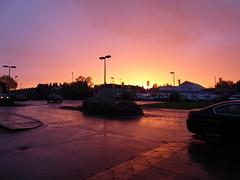 Castleford sunset 19-5-17