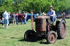 A rusty Deutz tractor
