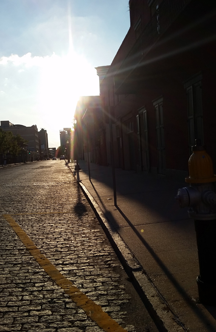 Sunset on Cobblestone