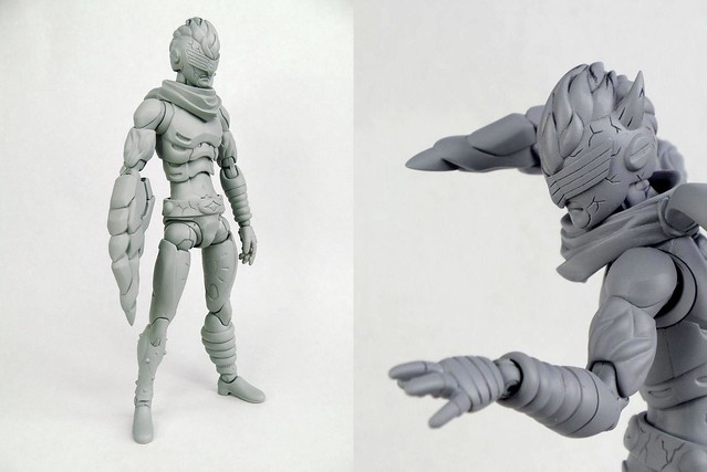 1000Toys X KOTS [BRICK]  新系列「nu:synth initiative」第一彈『Knights of the Synth(ナイツ・オブ・ザ・シンス)』1/12 可動人偶
