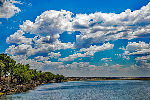 wernerboehm chobegamereerve chobe np botswana clouds river adrica