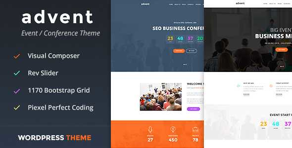 Advent WordPress Theme free download