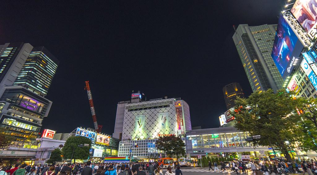 Shibuya Station...