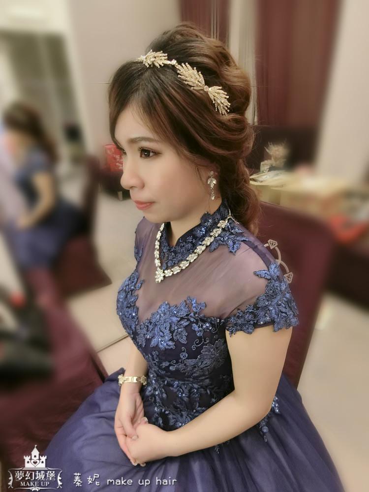 【新秘蓁妮】bride羽澄 訂結婚造型 / 清水成都婚宴會館