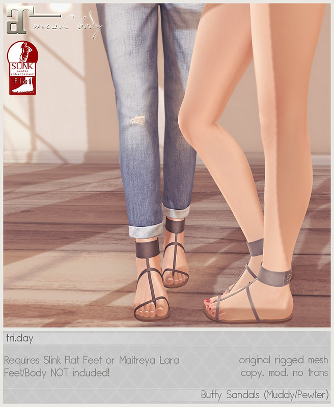 friday - Buffy Sandals for Fifty Linden Friday!