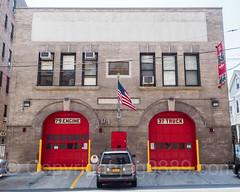FDNY Firehouse Engine 79, Ladder 37 and  Battalion 27, Norwood, Bronx, New York City
