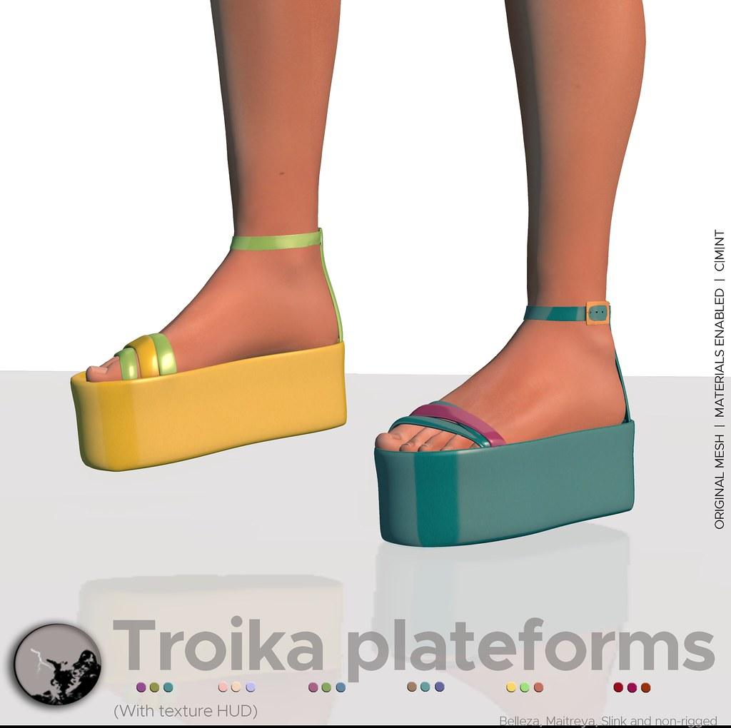 Troika Plateforms @ Shiny Shabby - May - SecondLifeHub.com