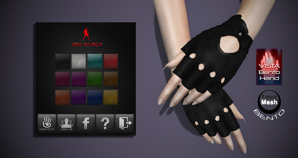.: LIKE DESIGN :. Amani Bento Vista Gloves - SecondLifeHub.com