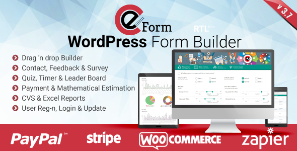 eForm v3.7.5 – WordPress Form Builder