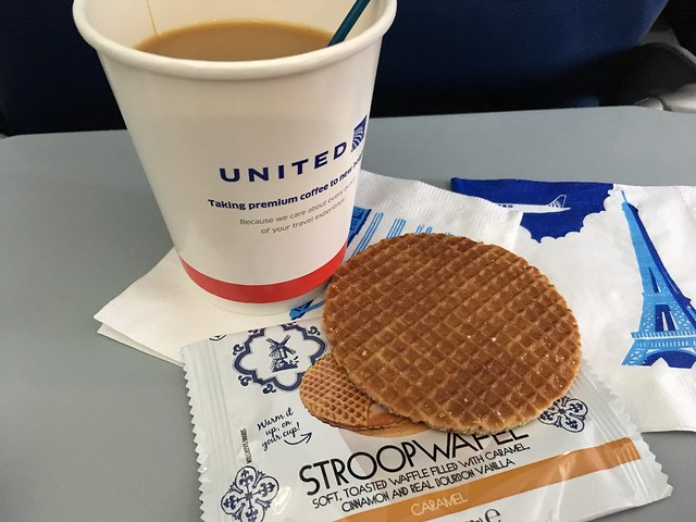 Stroopwafel - United Airlines