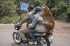 transport  moto. Gondar Ethiopia
