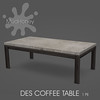 mudhoney des coffee table
