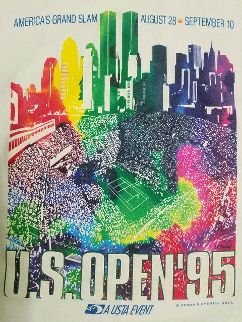 1995 US Open Graphic w/ WTC