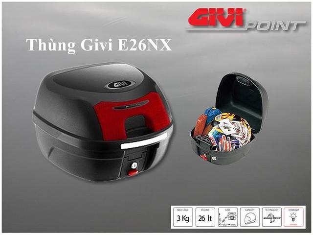 Thung xe Givi - 4