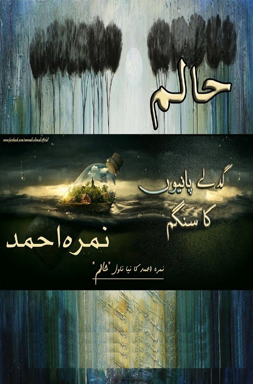 HAALIM Part 1 (Till Epi 19) is a very well written complex script novel which depicts normal emotions and behaviour of human like love hate greed power and fear, writen by Nimra Ahmad , Nimra Ahmad is a very famous and popular specialy among female readers